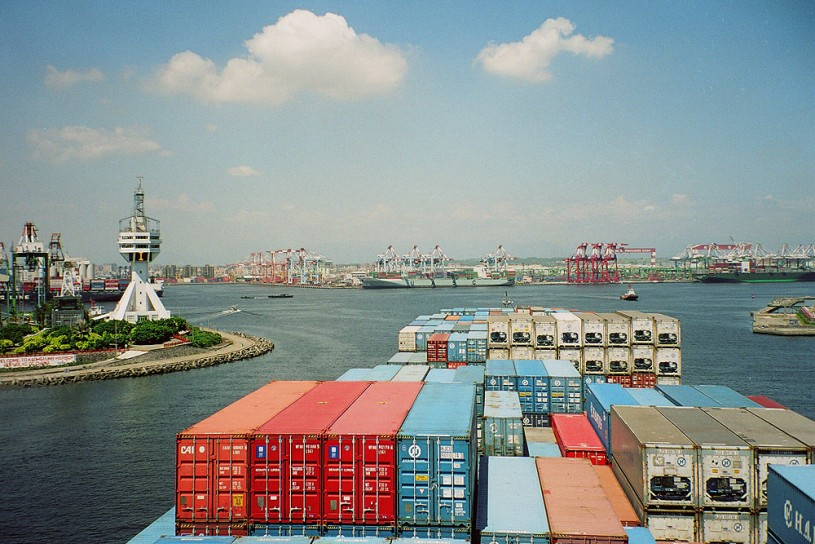 Kaohsiung-container-port